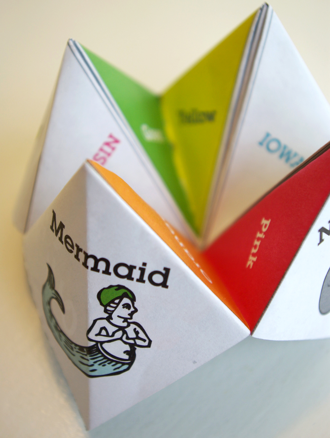How to Make a Paper Fortune Teller » I Love Inspire(d)