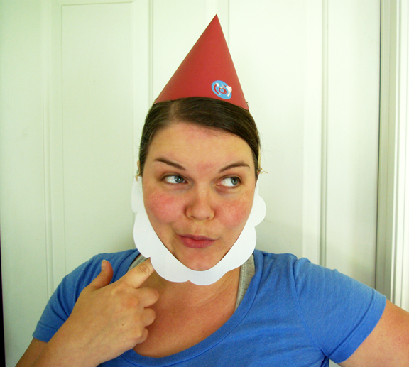 Make a Paper Gnome Hat (Plus Beard!)! » I Love Inspire(d)