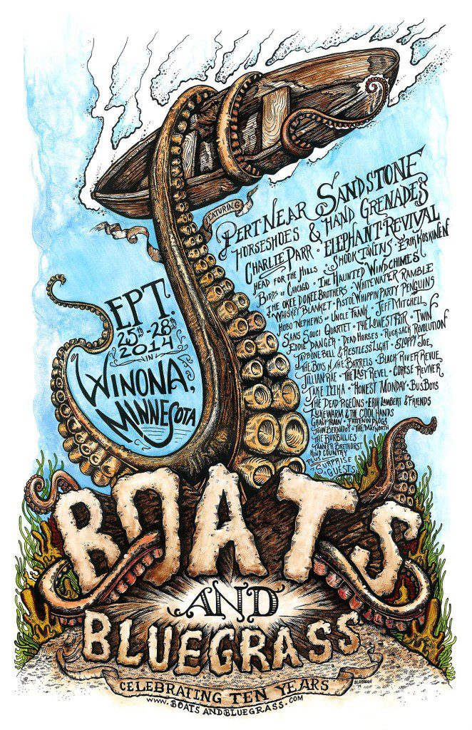 BoatsBluegrassPoster2014