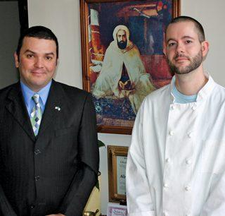 Frederique Boudouani (left) & Brian Bruening