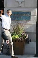 President Obama at Hotel Winneshiek