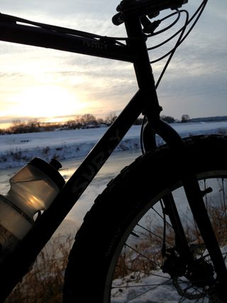 bike_sunset