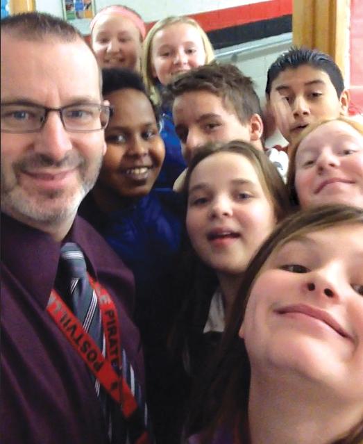 Principal Chad Wahls