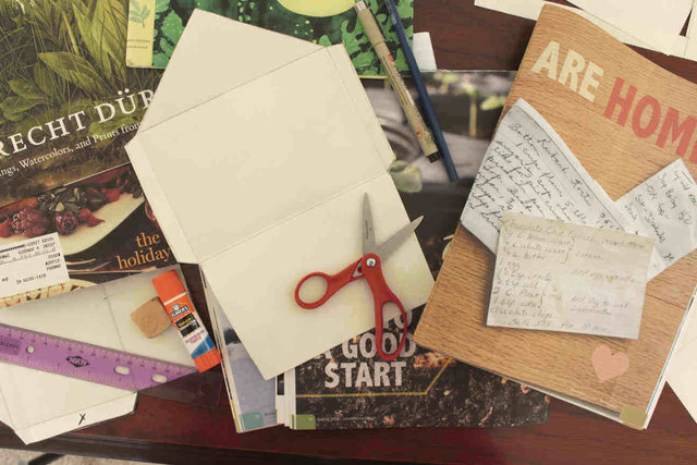 Materials for Homemade Envelopes