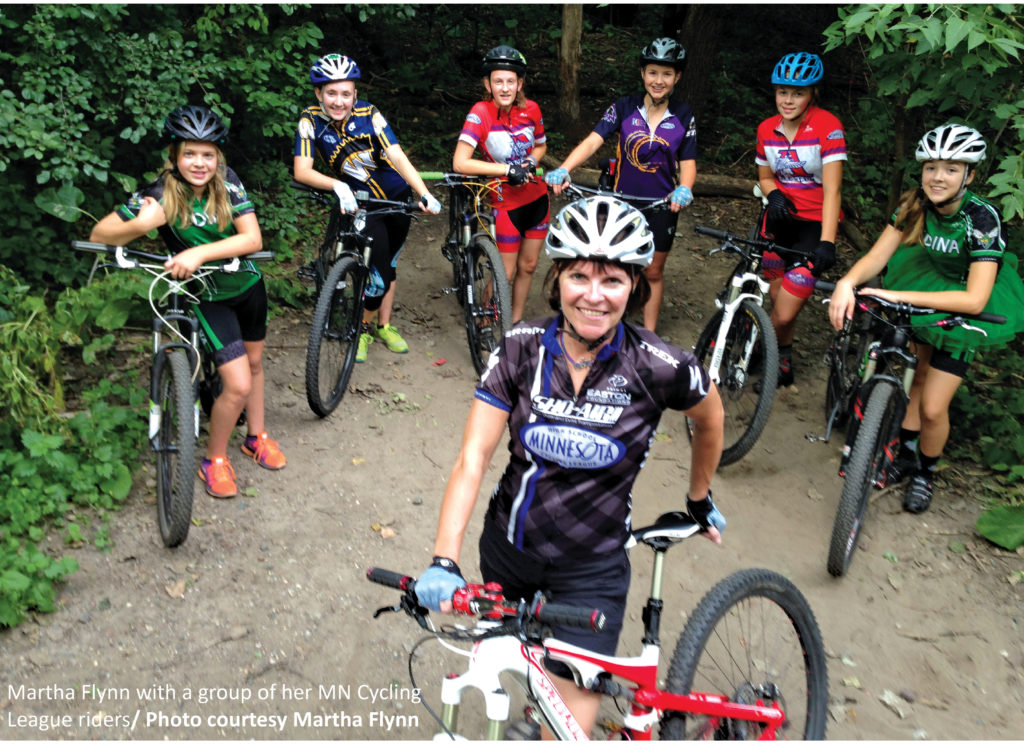 """fc0a561f0 """"The disparity between the number of girls and boys participating in mountain  biking was painfully evident from the start"""