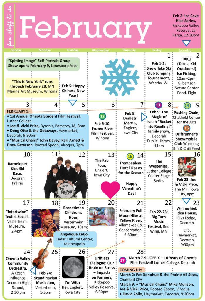 Fun February 2019 Calendar February 2019 Calendar! » I Love Inspire(d)