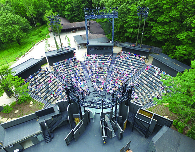 American Players Theatre's outdoor amphitheater, Hill Theatre