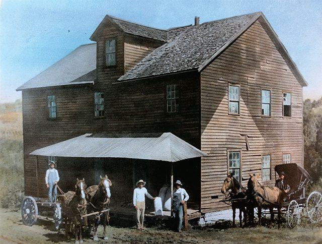 Springwater Mill Historic Photo